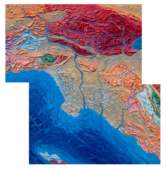 Simplified Geology of The Los Angeles Basin Two Panel Off-Set 2014-2020