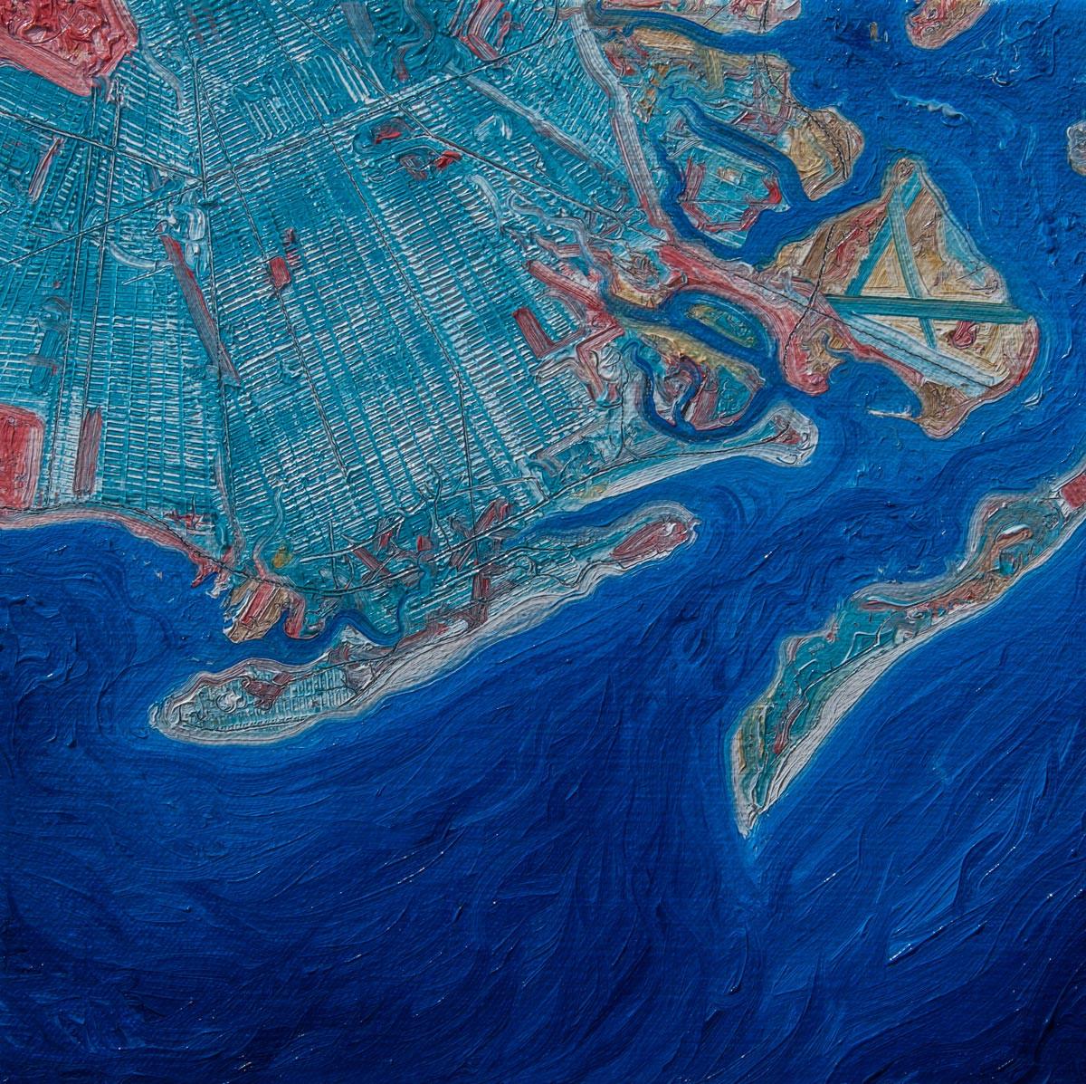 Mapping New York 1995 #15; Brooklyn,Coney Island