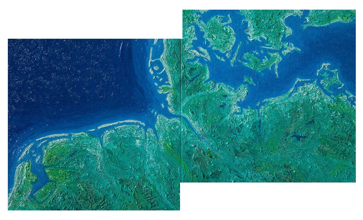 Parts of the Netherlands. Germany, and Denmark with the City of Hamburg 2010