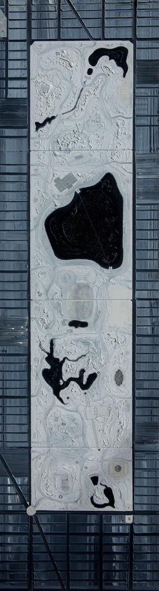 N.Y.C. 1994 #47 White Manhattanesque 26 Central Park