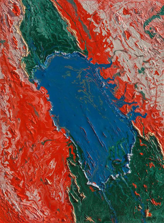 Flooded Salton Sea 2021