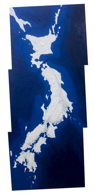 Large Japanese Islands