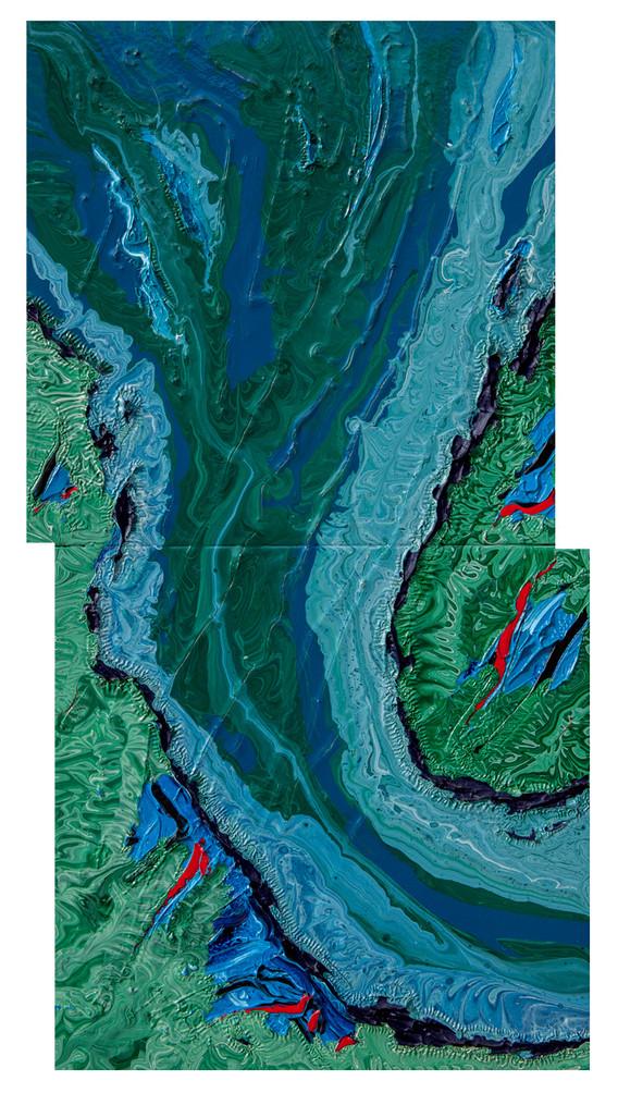 Malachite River Somewhere in Northern California 2019 #1