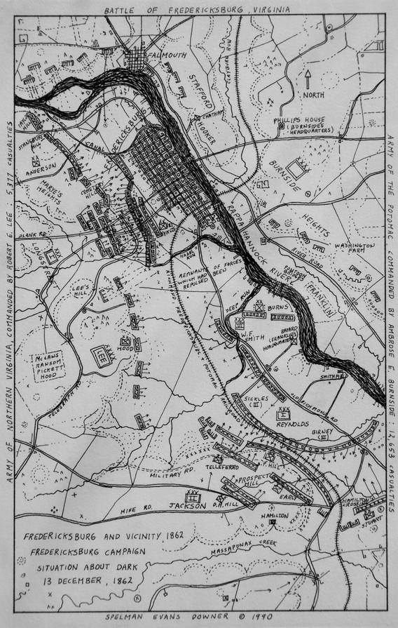 Fredericksburg and Vicinity 1862