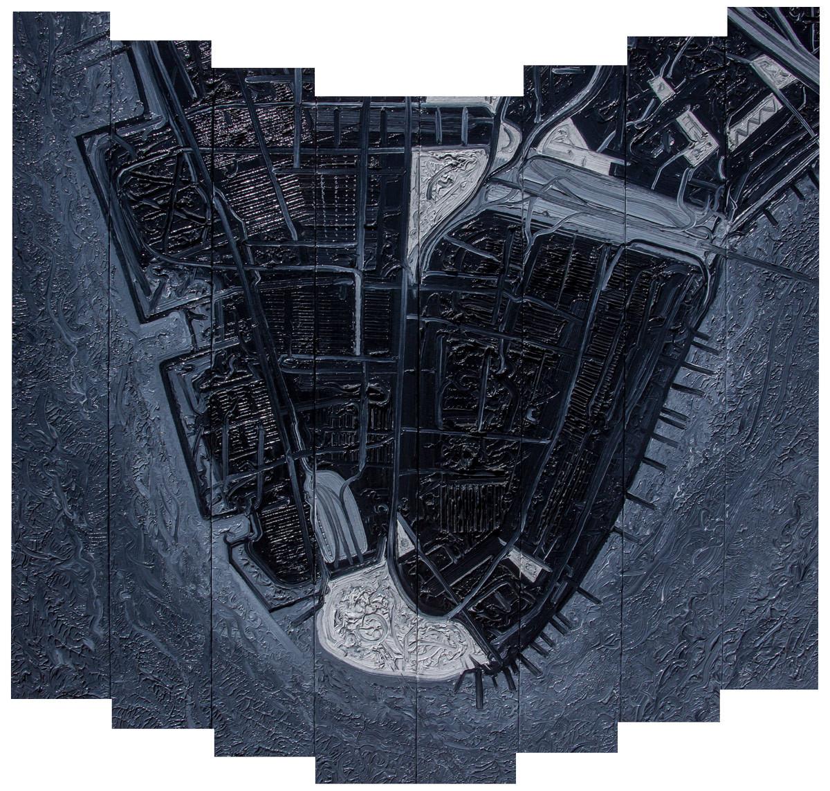 NYC 1994 #15, Manhattanesque 5, Financial District 3