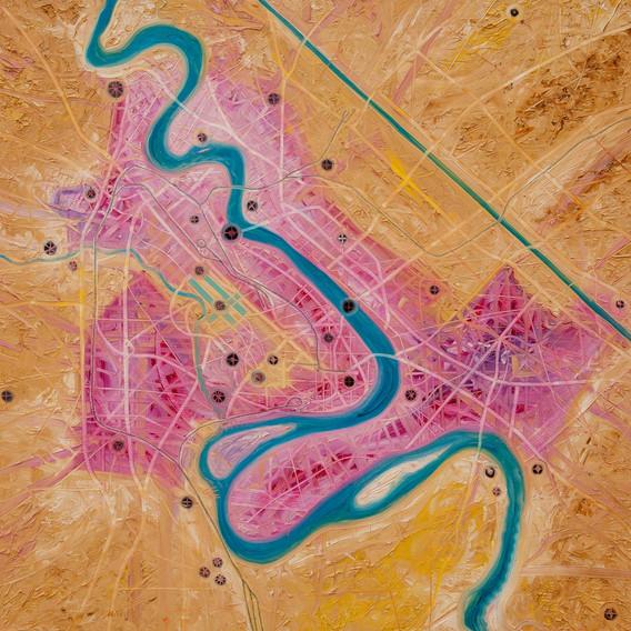 Bombing Magenta Baghdad 1991 #4