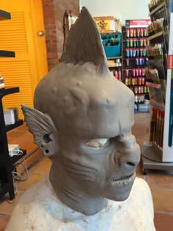 Sea creature sculpt