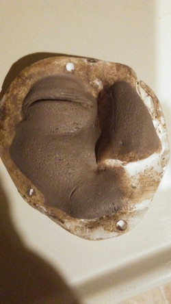 swollen face sculpt