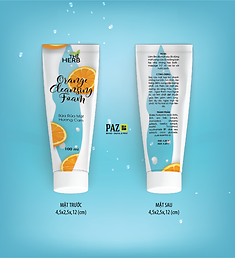 The Herb Cosmetic - Orange Cleansing Foam