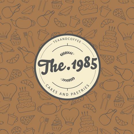 THE 1985 CAFE - Brand Identity System