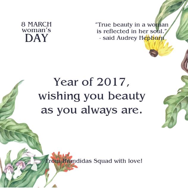 Brandidas 8 March Woman's Day Mini Campaign