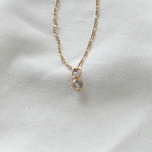 Gold filled jewellery cz pendant Singapore