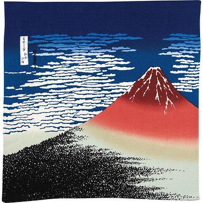 RED FUJI HOKUSAI – SOUTH WIND, CLEAR SKY 68cm LARGE