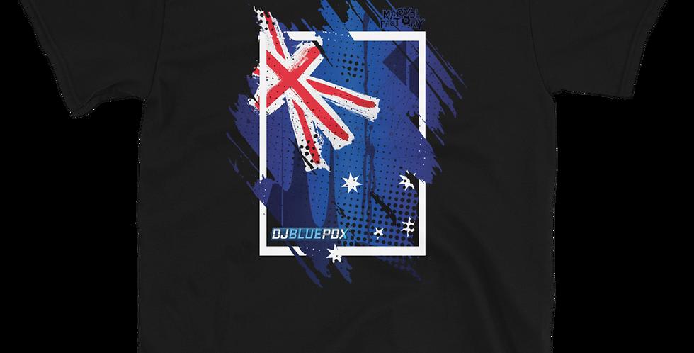 DJBluePDX Australia Wildfire Relief Short-Sleeve Unisex T-Shirt