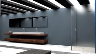 Textured Bathroom