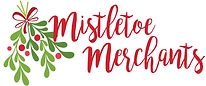 Mistletoe MEM bright red logo stack new.