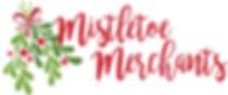 Mistletoe MEM bright red logo stack new.