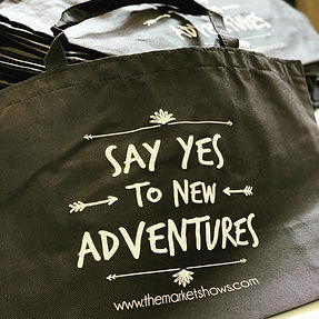 say yes to adventure totes