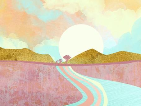 AW21/22 Inspiration: Абстрактные Пейзажи