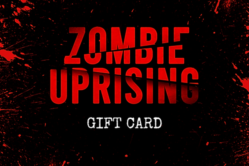 Zombie Uprising Gift Card for 3 People