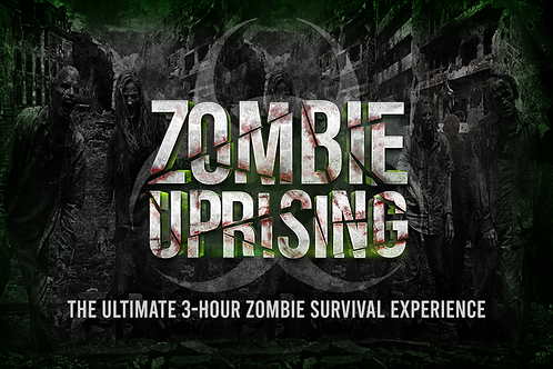 Zombie Uprising Gift Card for 4 People
