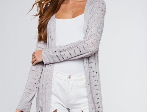 Fringe Sweater Cardigan (7/19 Preorder)