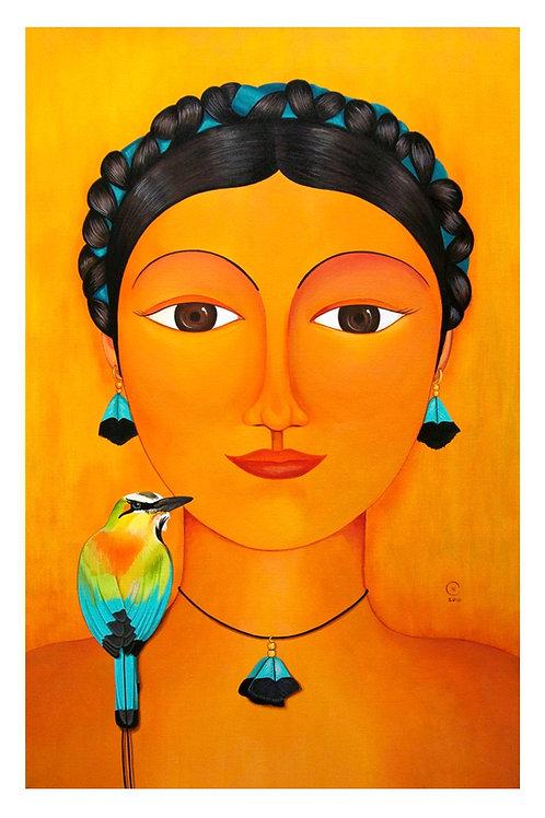 Torogoz Art Card