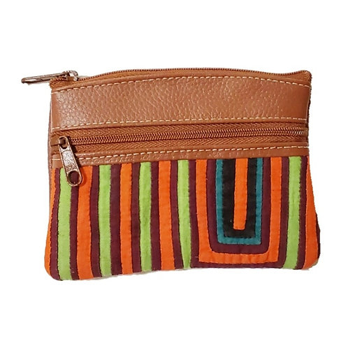 Mola Coin Purse Light Brown (Only one unit in stock)