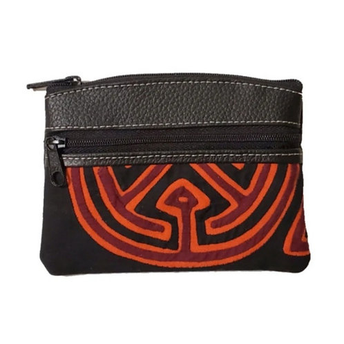 Mola Coin Purse Amazing Black  (Only one unit in stock)