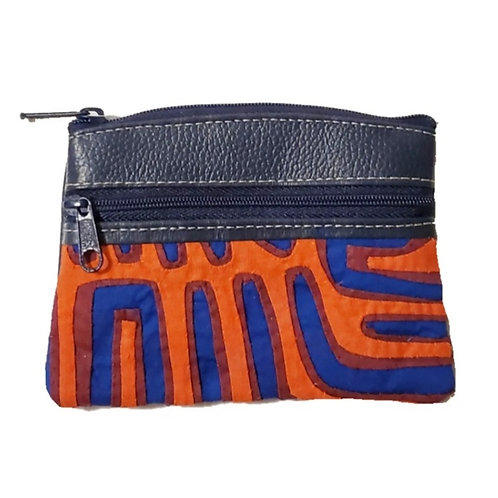 Mola Coin Purse Dark Blue 1 (Only one unit in stock)