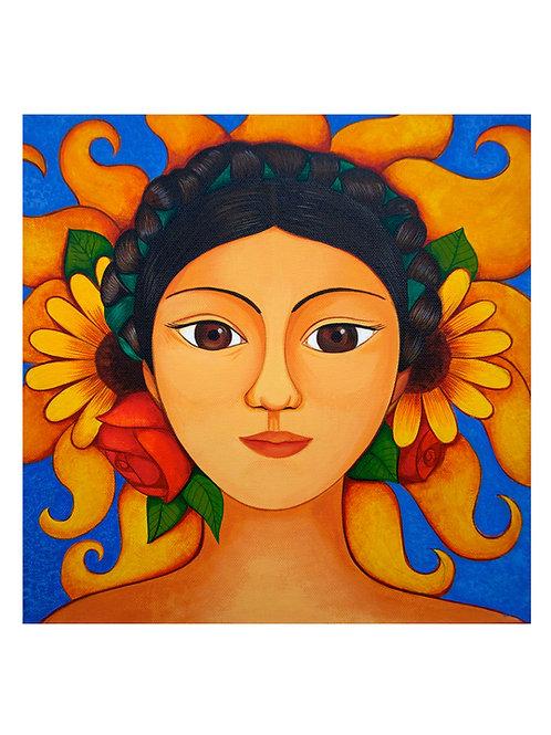 Sun Princess Art Print