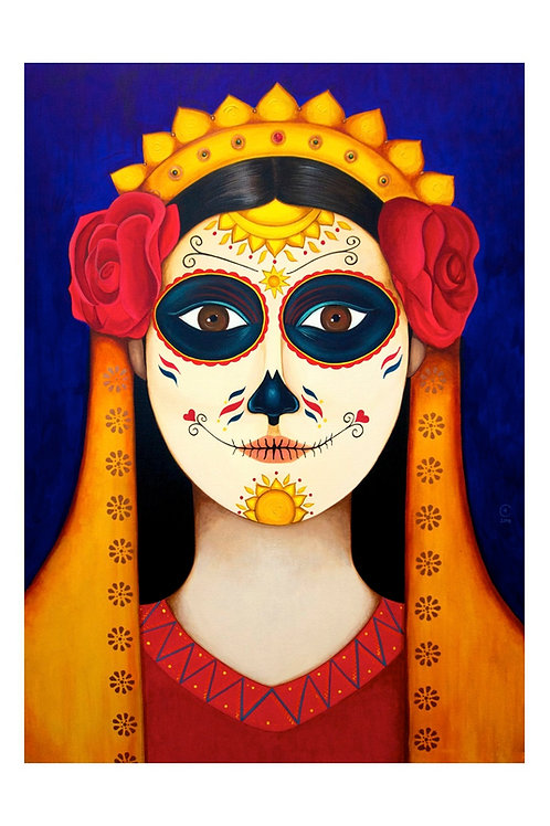 Sunshine Catrina Art Card