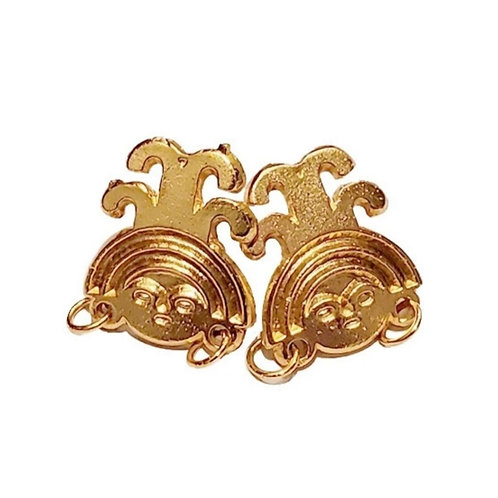 Pre-Columbian Gold Coated Studs 4