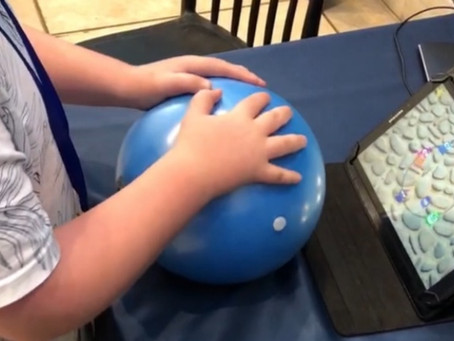 Autism help with PlayBall: Smart Therapy Ball