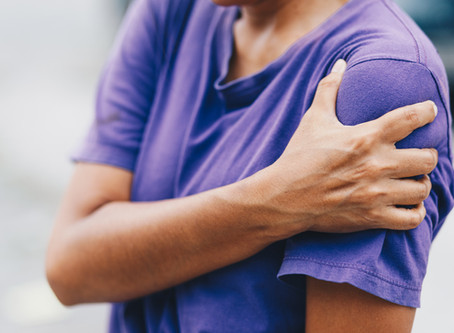 Ouch! Shoulder pain and how to treat it
