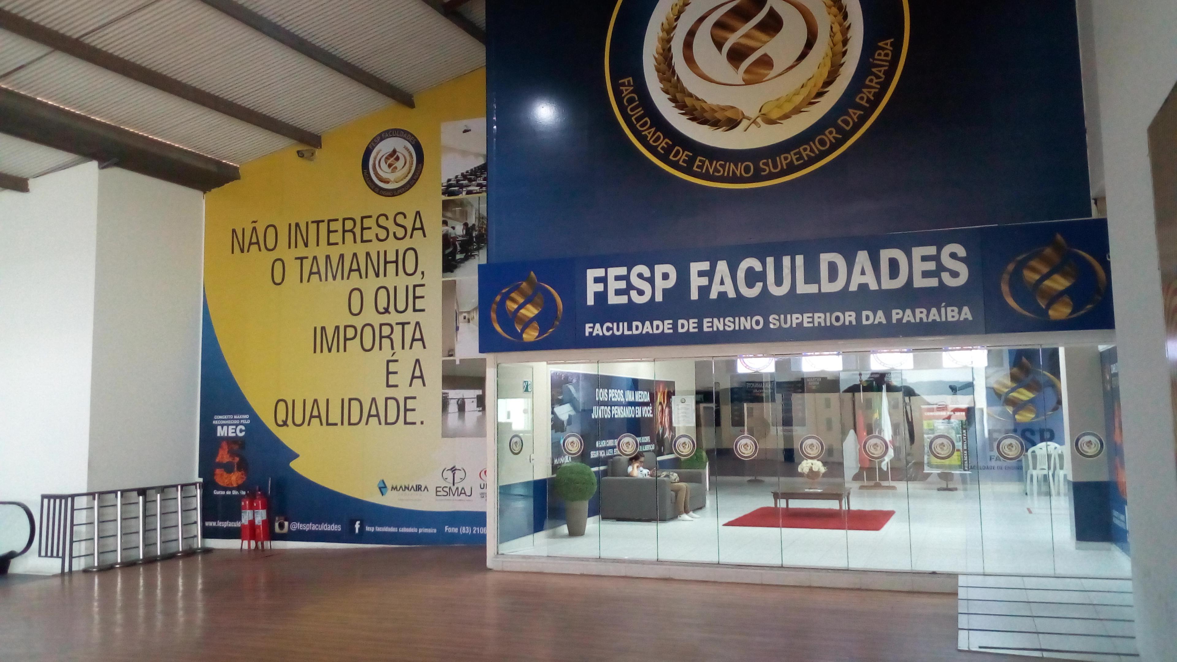 Seja Bem Vindo a Fesp Faculdades!
