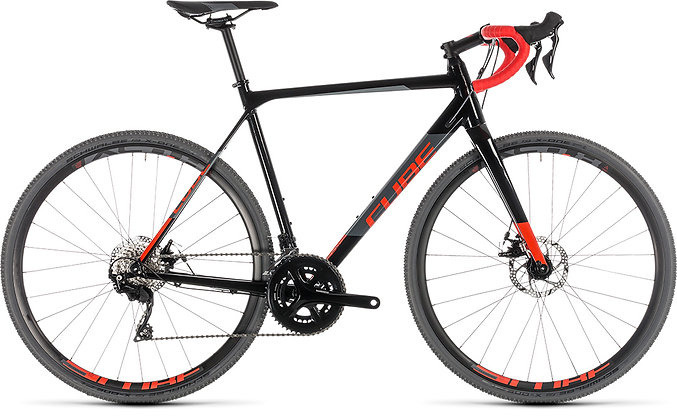 2019 Cube Cross Race black'n red