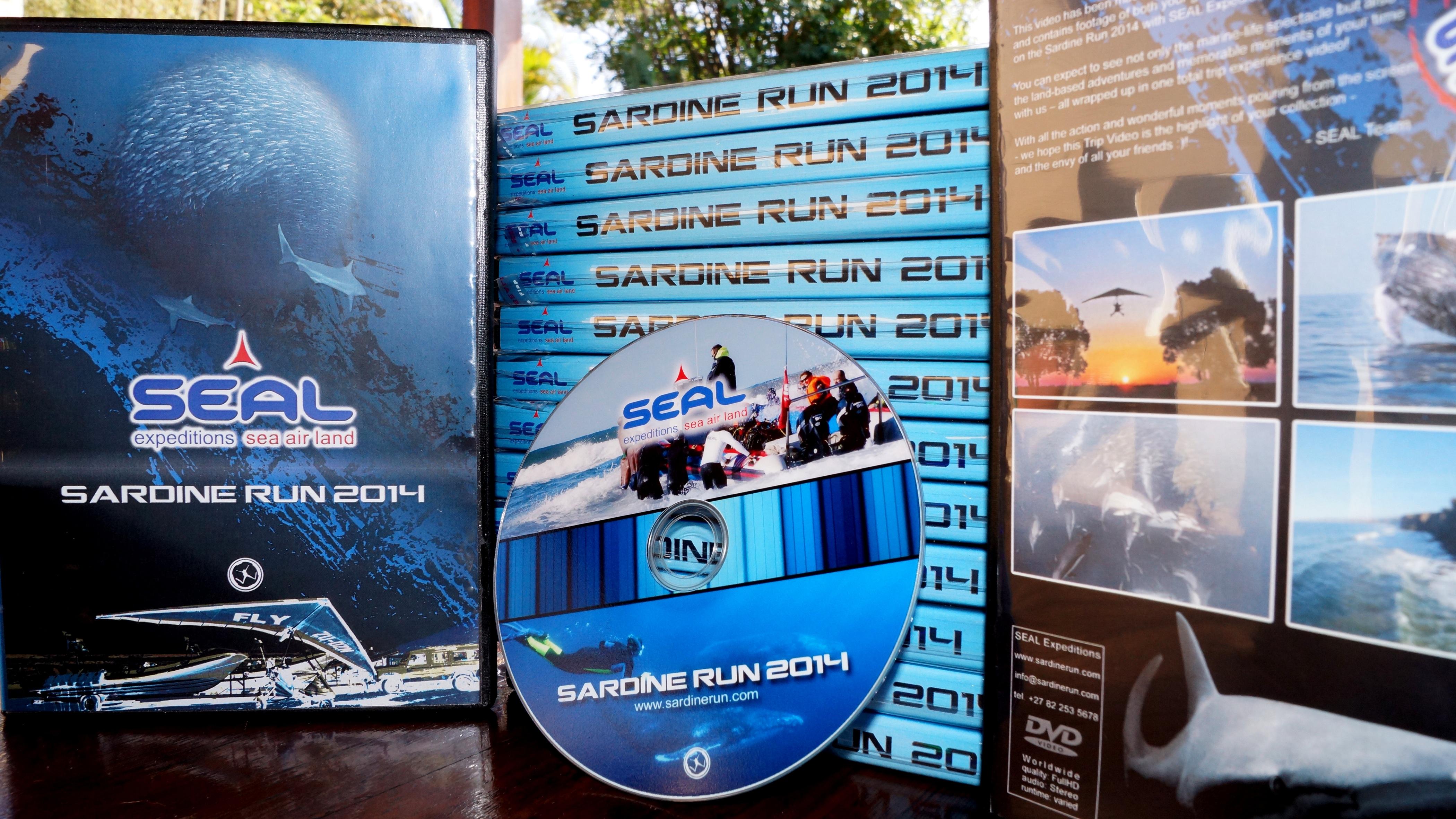 Sardine Run 2014 DVDs