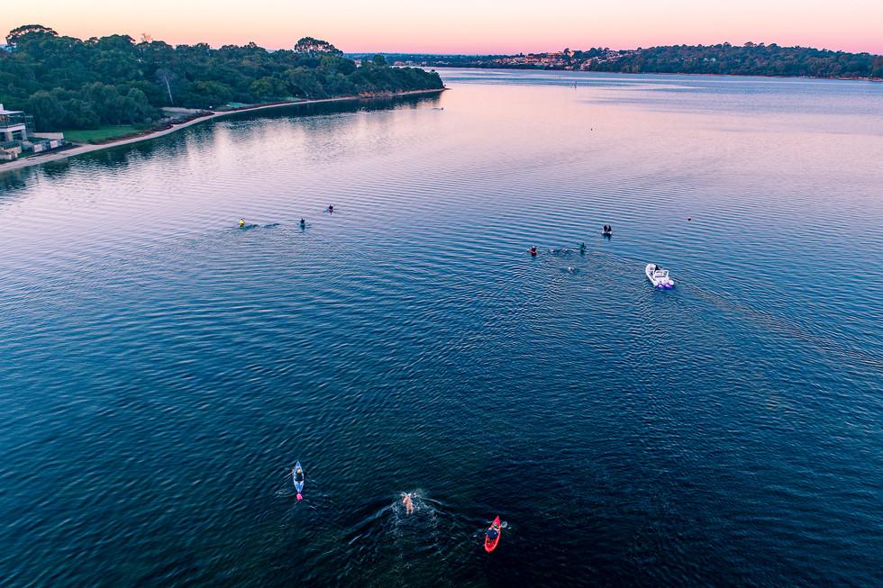 Sunrise Swimmers - Swan River