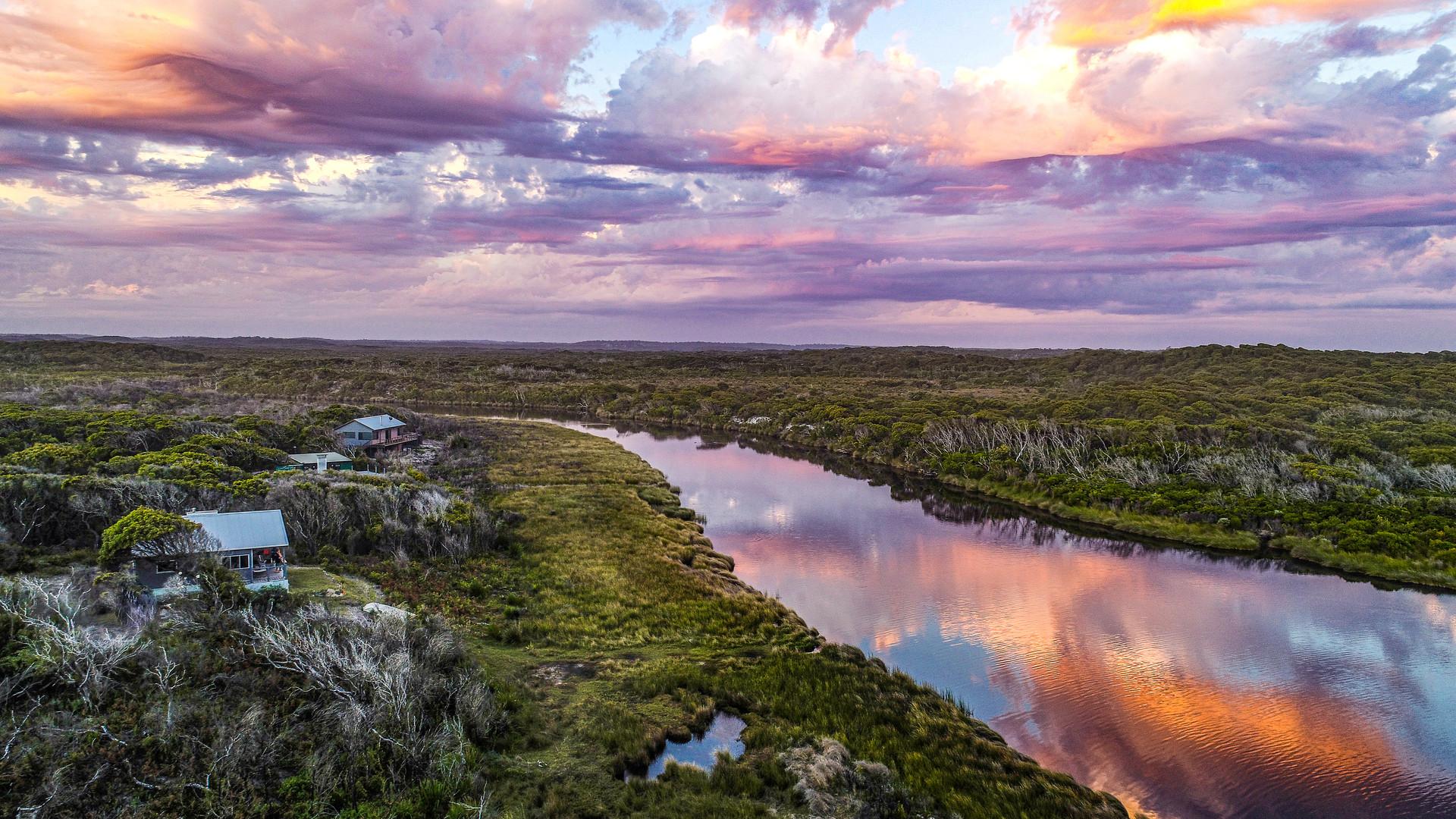 Sunset Gardner River