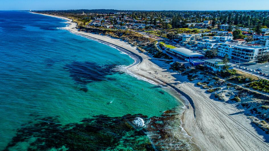 North Cottesloe Beach - Vista North