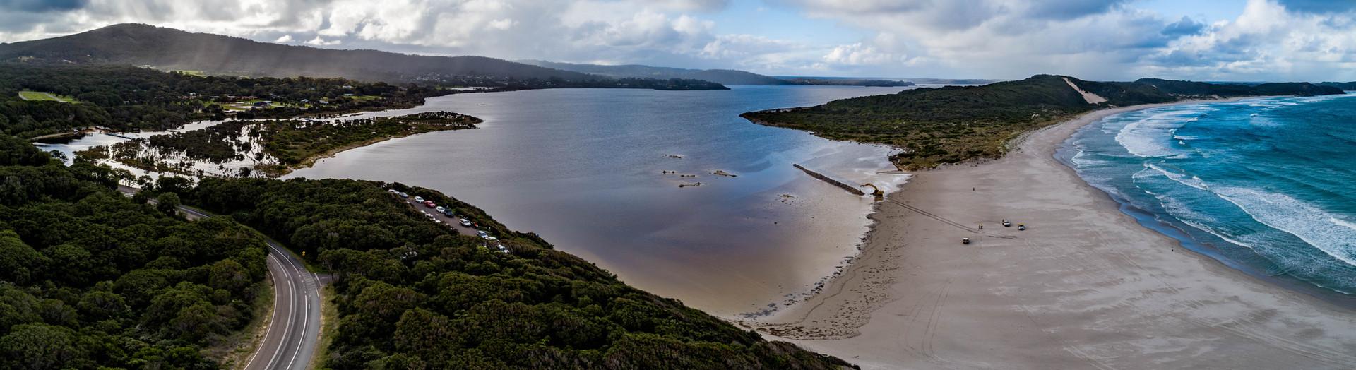 Open the Bar - Wilson Inlet  and Ocean Beach