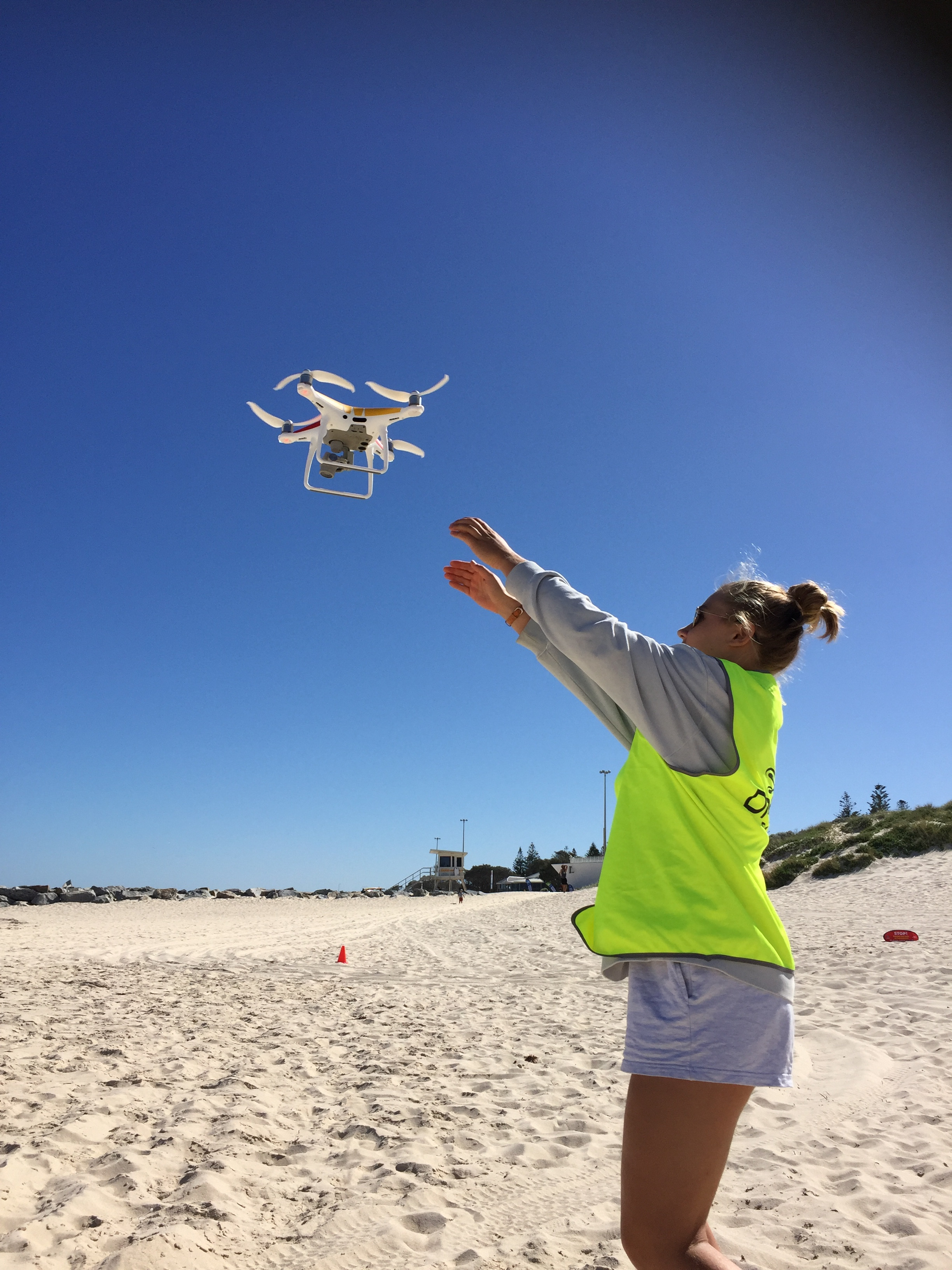 Drone Patrol Practical Session