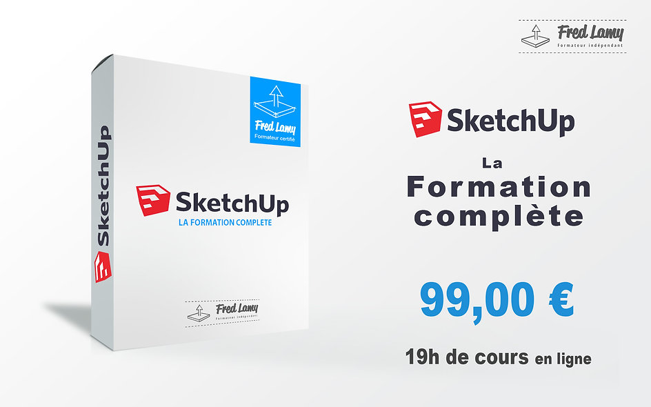 Sketchup la formation complète