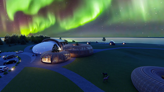 Iceland Northern Lights Architecture Competition