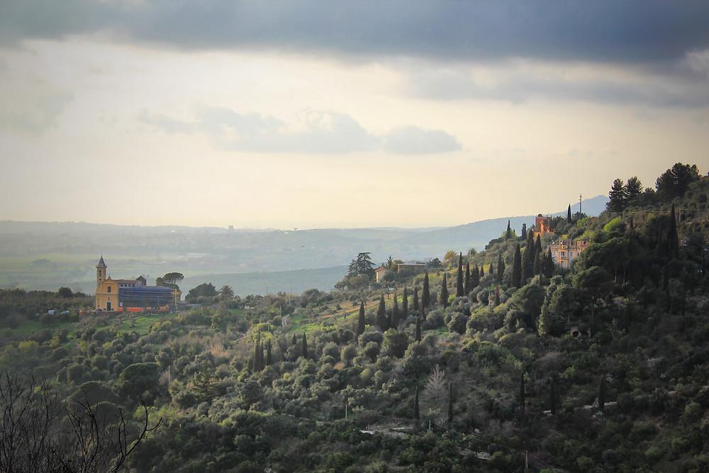 Villa Gregoriana Tivoli - veduta