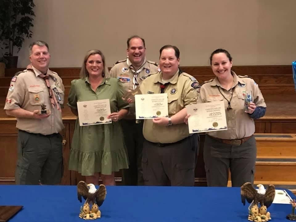 And Congratulations to our Boy Scouts!