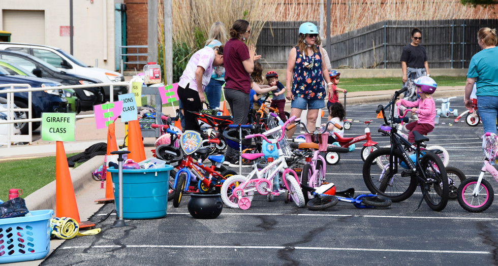 Spring has sprung and our MDO held a Bike and Trike Day this week.