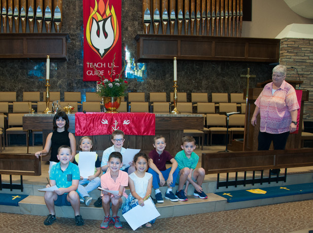 This class went looking for the Holy Spirit!