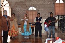 Worship in Bolivia!